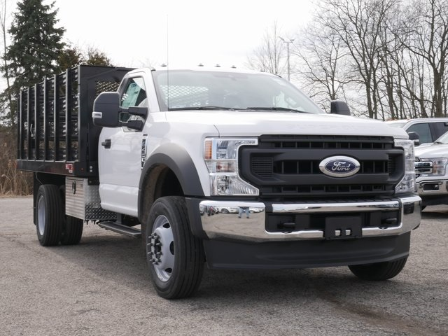 2020 Ford F-450 Regular Cab DRW 4x2, Monroe Stake Bed #CC14051 - photo 1