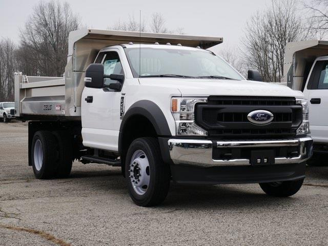 2020 Ford F-450 Regular Cab DRW 4x4, 9' Aluminum  Dump #CE38428 - photo 1