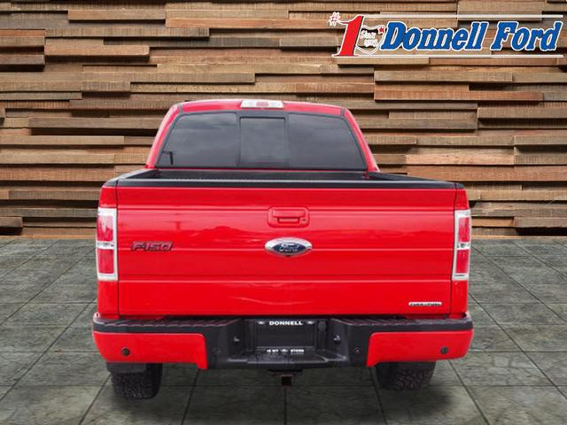 2013 F-150 SuperCrew Cab 4x4,  Pickup #H1674 - photo 4