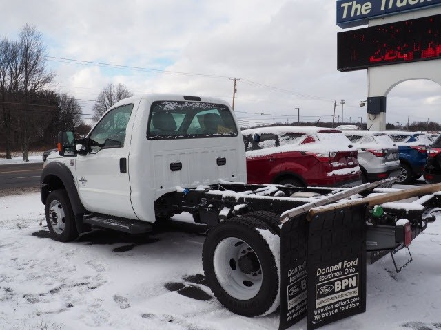 2016 F-550 Regular Cab DRW 4x4, Cab Chassis #T18171 - photo 2