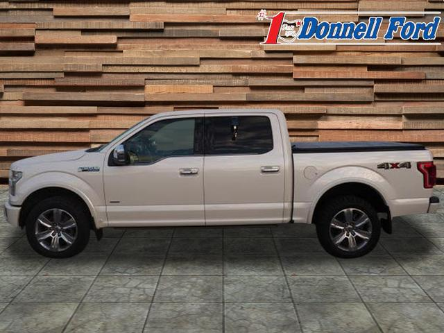 2016 F-150 SuperCrew Cab 4x4,  Pickup #T19296A - photo 3