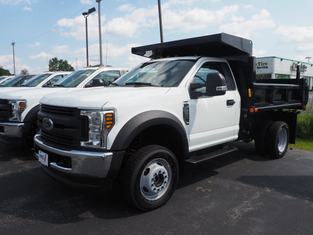 2018 F-550 Regular Cab DRW 4x4,  Truck Craft Dump Body #T19725 - photo 6
