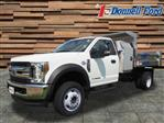 2018 F-550 Regular Cab DRW 4x4,  Truck Craft Dump Body #T19725 - photo 1