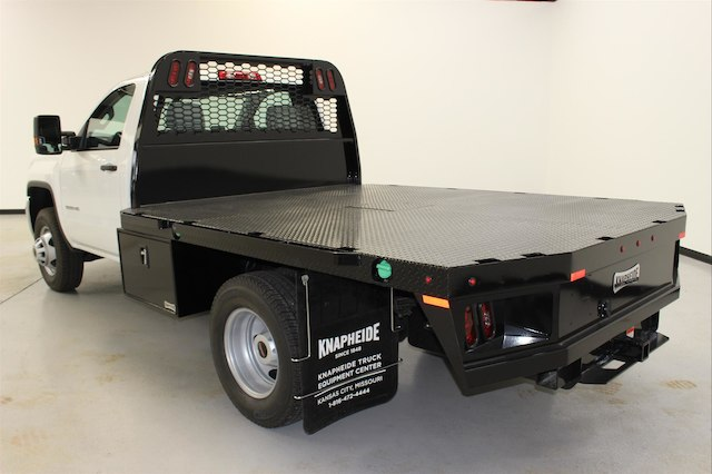 2018 Sierra 3500 Regular Cab DRW 4x4,  Knapheide PGNB Gooseneck Platform Body #107098 - photo 7