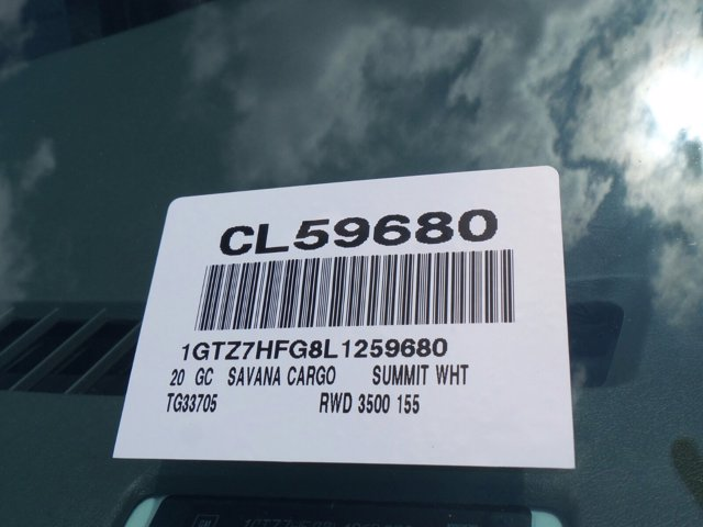 2020 GMC Savana 3500 RWD, Empty Cargo Van #CL59680 - photo 43