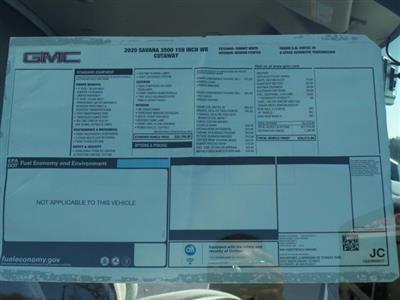 2020 GMC Savana 3500 4x2, Rockport Cutaway Van #CL64285 - photo 44