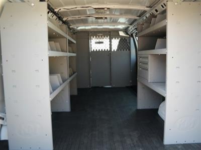 2020 Savana 2500 4x2,  Kargo Master Commercial Shelving Upfitted Cargo Van #L1121569 - photo 2