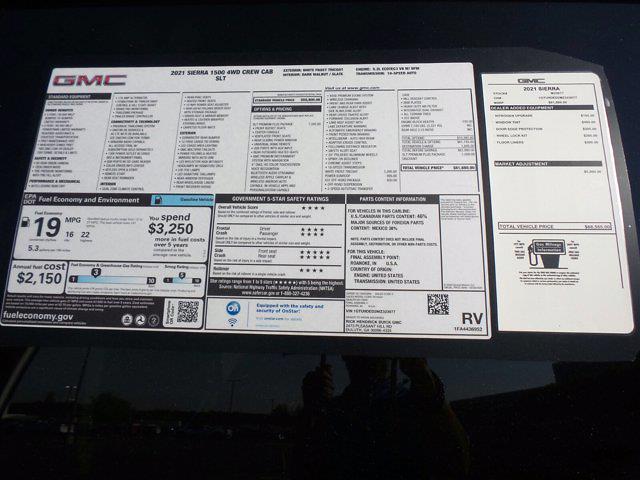 2021 GMC Sierra 1500 Crew Cab 4x4, Pickup #M23977 - photo 59