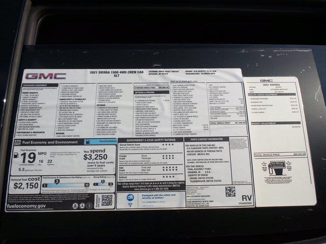 2021 GMC Sierra 1500 Crew Cab 4x4, Pickup #M24067 - photo 61
