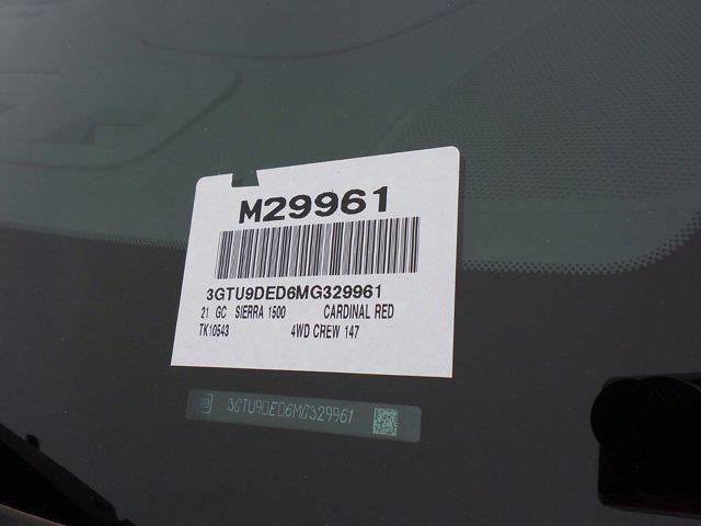 2021 GMC Sierra 1500 Crew Cab 4x4, Pickup #M29961 - photo 60