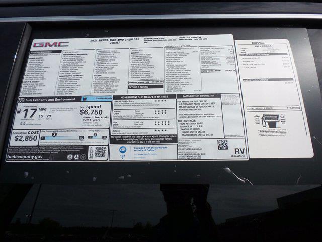 2021 GMC Sierra 1500 Crew Cab 4x4, Pickup #M30942 - photo 58