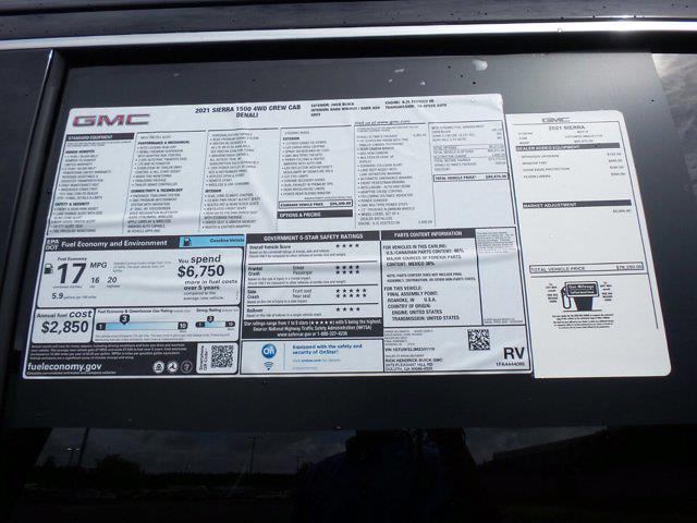 2021 GMC Sierra 1500 Crew Cab 4x4, Pickup #M31119 - photo 58