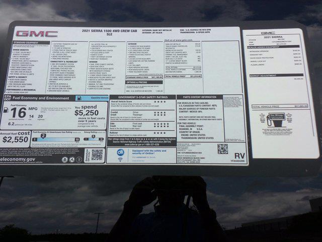 2021 GMC Sierra 1500 Crew Cab 4x4, Pickup #M41304 - photo 52