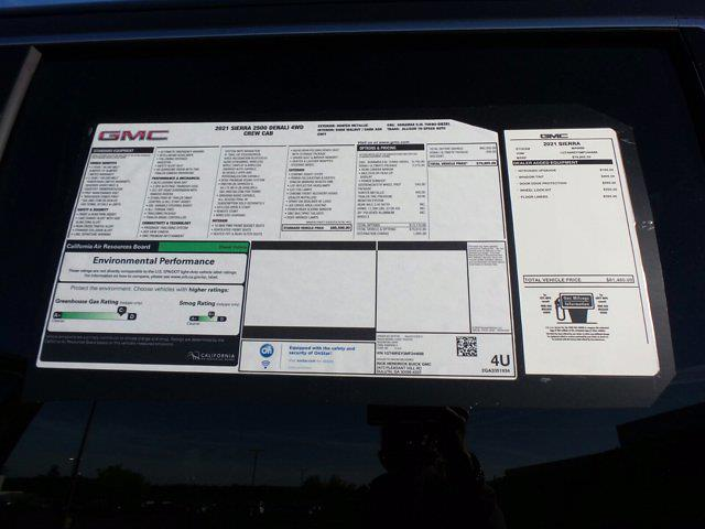2021 GMC Sierra 2500 Crew Cab 4x4, Pickup #M44688 - photo 59