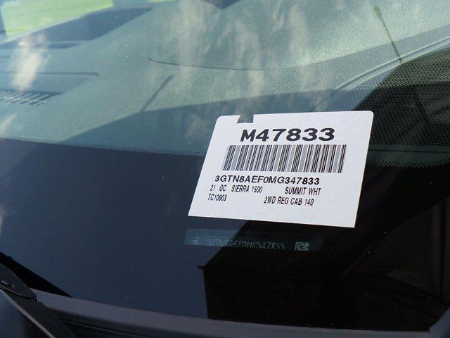 2021 GMC Sierra 1500 Regular Cab 4x2, Pickup #M47833 - photo 23
