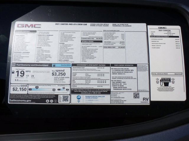 2021 GMC Canyon Crew Cab 4x4, Pickup #M50494 - photo 53