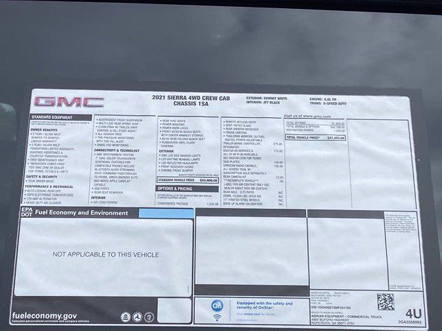 2021 GMC Sierra 3500 Crew Cab 4x4, Warner Select Pro Service Body #M51765 - photo 44