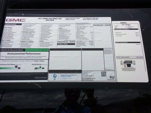 2021 GMC Sierra 3500 Crew Cab 4x4, Pickup #M54131 - photo 62