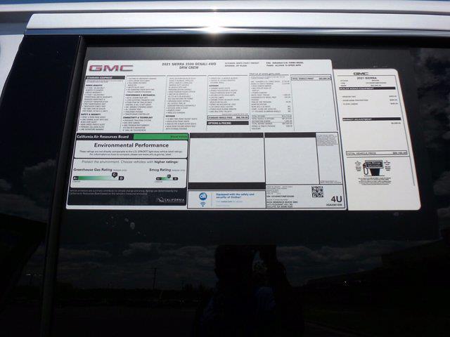 2021 GMC Sierra 3500 Crew Cab 4x4, Pickup #M54298 - photo 59