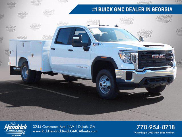 2021 GMC Sierra 3500 Crew Cab 4x4, Reading Service Body #M65010 - photo 1