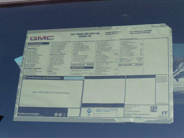 2021 GMC Sierra 3500 Crew Cab 4x4, Reading SL Service Body #M65010 - photo 45