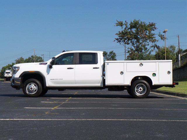 2021 Sierra 3500 Crew Cab 4x2,  Royal Truck Body Service Body #M74207 - photo 6