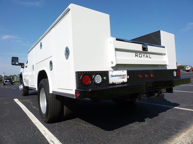 2021 Sierra 3500 Crew Cab 4x2,  Royal Truck Body Service Body #M74207 - photo 7