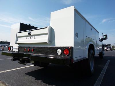 2021 Sierra 3500 Crew Cab 4x2,  Royal Truck Body Service Body #M74207 - photo 2