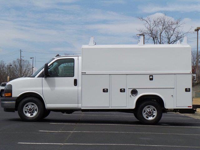 2021 GMC Savana 3500 4x2, Knapheide KUV Service Utility Van #M85476 - photo 6