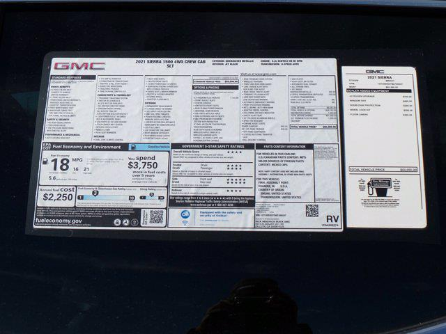 2021 GMC Sierra 1500 Crew Cab 4x4, Pickup #M89337 - photo 57