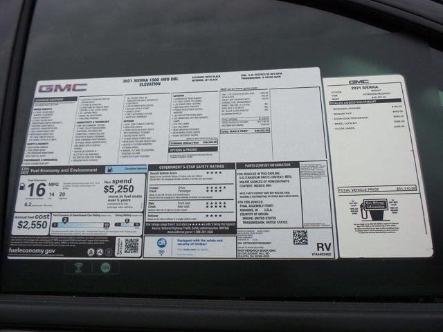 2021 GMC Sierra 1500 Double Cab 4x4, Pickup #M90507 - photo 54