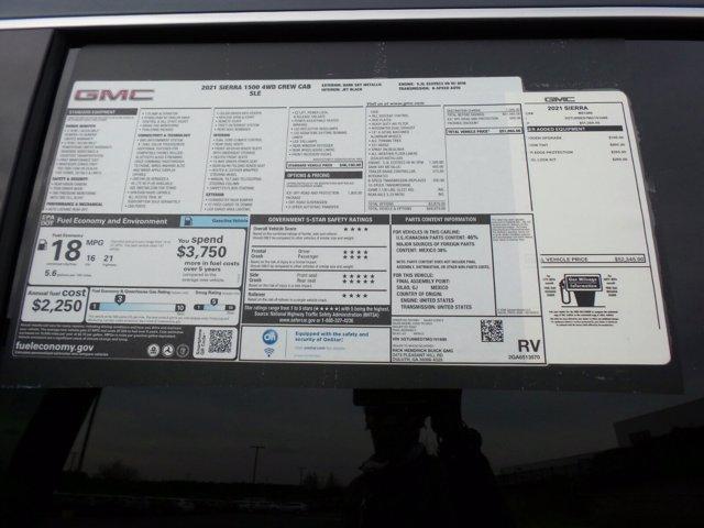 2021 GMC Sierra 1500 Crew Cab 4x4, Pickup #M91688 - photo 48