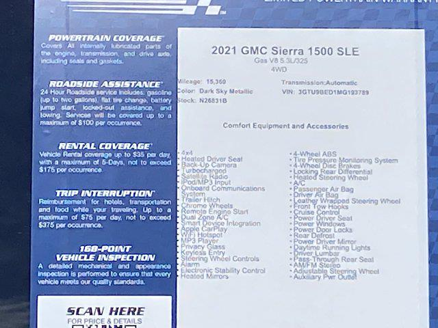 2021 GMC Sierra 1500 Crew Cab 4x4, Pickup #M93789 - photo 45