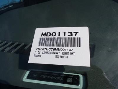 2021 GMC Savana 4500 DRW 4x2, Cutaway #MD01137 - photo 47