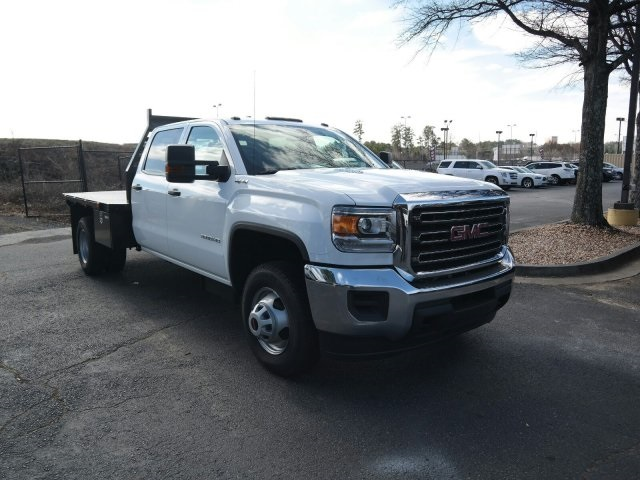 2016 Sierra 3500 Crew Cab 4x4, Platform Body #MF239494 - photo 3