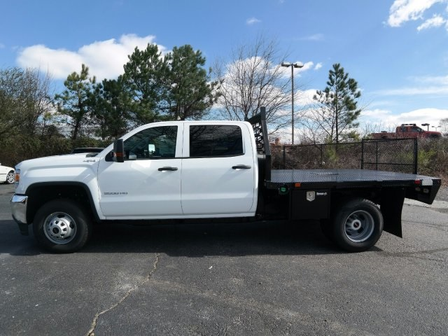 2016 Sierra 3500 Crew Cab 4x4, Platform Body #MF239494 - photo 9