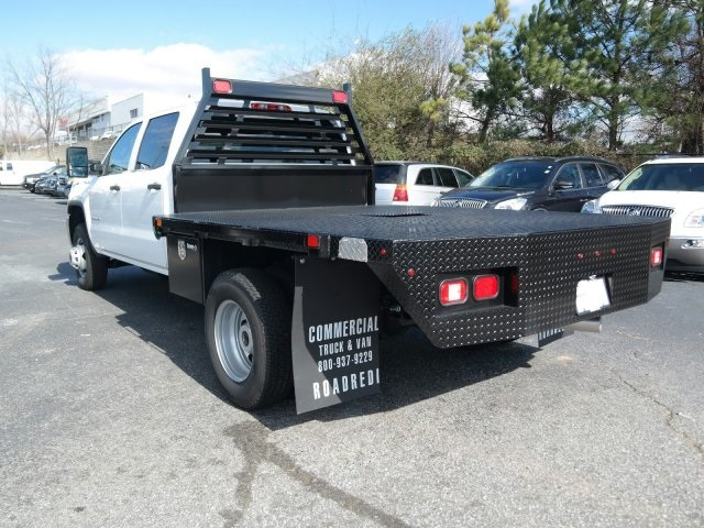 2016 Sierra 3500 Crew Cab 4x4, Platform Body #MF239494 - photo 2