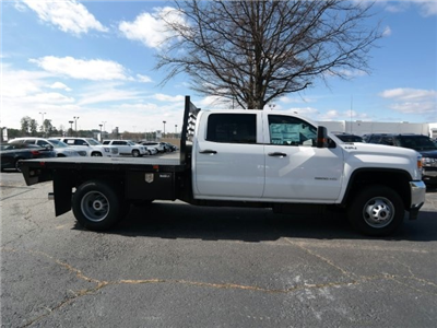 2016 Sierra 3500 Crew Cab 4x4, Platform Body #MF239494 - photo 12