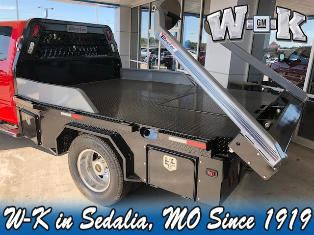 2019 Silverado 3500 Crew Cab DRW 4x4,  Besler Industries Platform Body #112891 - photo 3