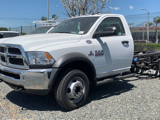 2018 Ram 4500 Regular Cab DRW 4x4,  Scelzi Contractor Body #18D1379 - photo 3