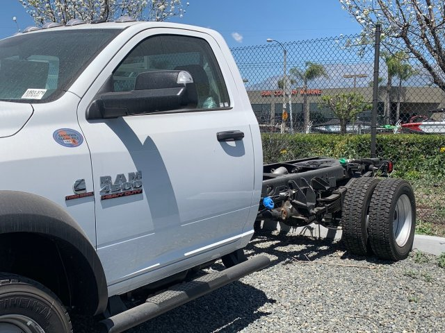 2018 Ram 4500 Regular Cab DRW 4x4,  Scelzi Contractor Body #18D1379 - photo 2