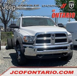 2018 Ram 4500 Regular Cab DRW 4x4,  Contractor Body #18D1379 - photo 1
