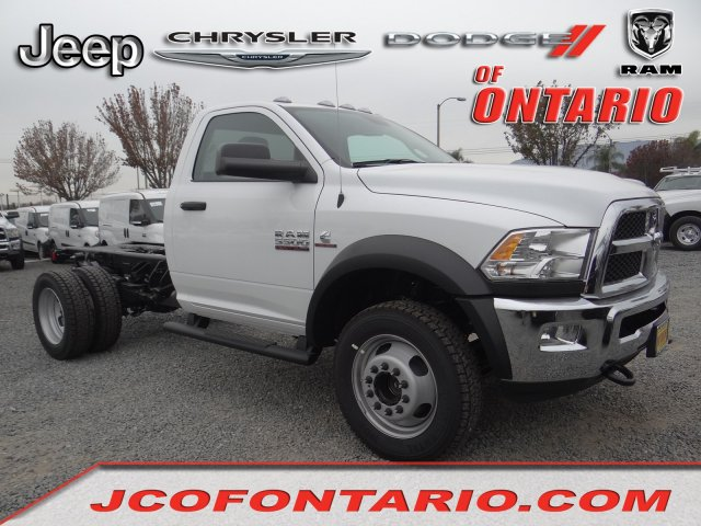 2018 Ram 5500 Regular Cab DRW 4x4,  Cab Chassis #18D1476 - photo 1