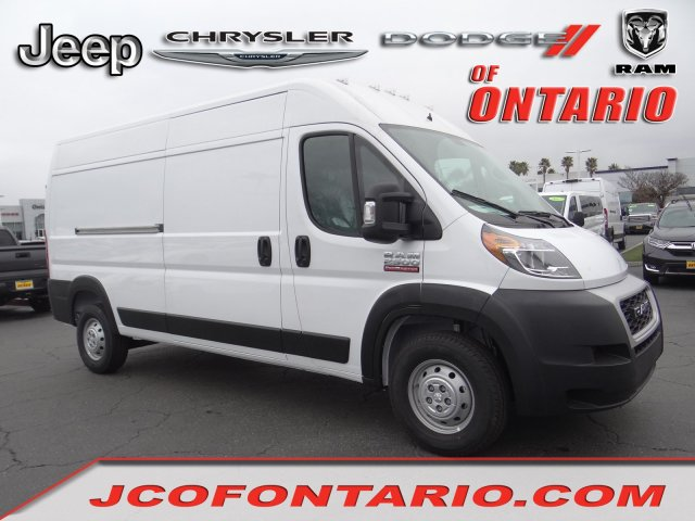 2019 ProMaster 2500 High Roof FWD,  Empty Cargo Van #19D364 - photo 1