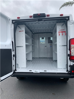 2019 ProMaster 1500 Standard Roof FWD,  Weather Guard Upfitted Cargo Van #19D469 - photo 2