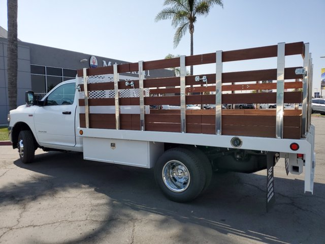 2020 Ram 3500 Regular Cab DRW RWD, Scelzi Stake Bed #20D1077 - photo 1