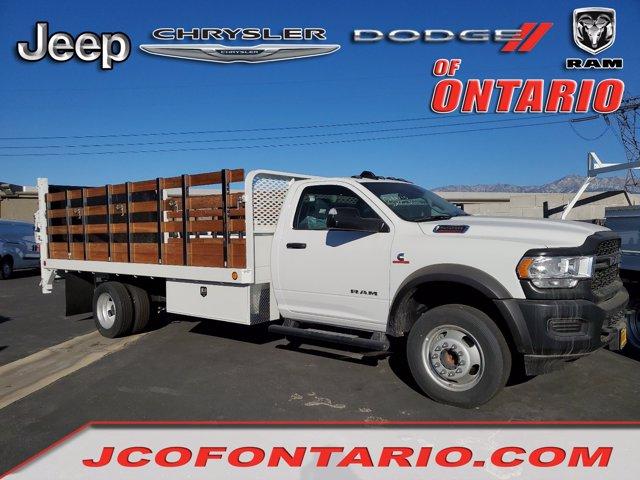 2020 Ram 5500 Regular Cab DRW 4x2, Scelzi Stake Bed #20D540 - photo 1