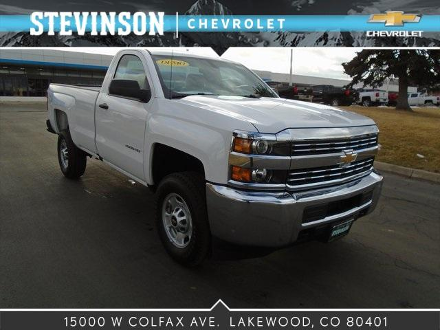 2017 Silverado 2500 Regular Cab 4x4, Pickup #75681 - photo 1