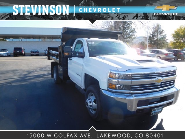 2017 Silverado 3500 Regular Cab 4x4 Dump Body #75754 - photo 1