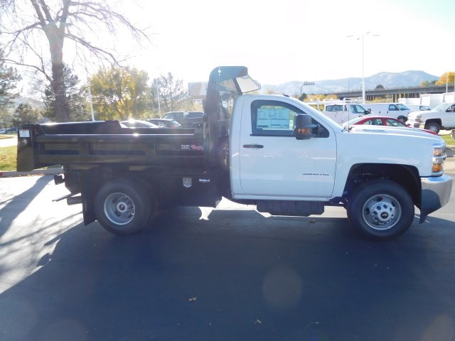 2017 Silverado 3500 Regular Cab 4x4 Dump Body #75754 - photo 3